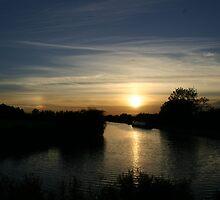 Sunset near Devizes by PCDC