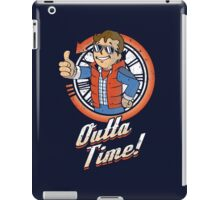 Outta Time iPad Case/Skin
