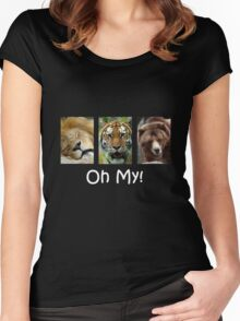 Oh My! Women's Fitted Scoop T-Shirt