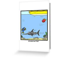 Inflatable Boat Greeting Card