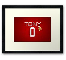 Tony 0 Framed Print