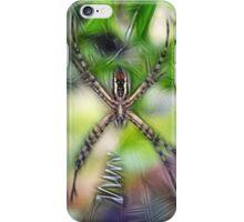 Skinny Garden Spider iPhone Case/Skin