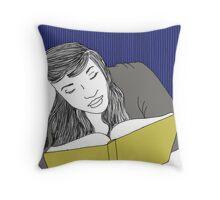 The Hermit Art Print Throw Pillow