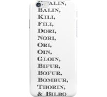 The Dwarves* iPhone Case/Skin