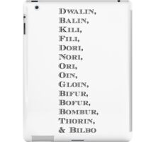 The Dwarves* iPad Case/Skin