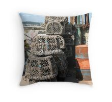 Lobsters Safe Today Throw Pillow