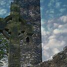 Muiredach's Cross - Monasterboice by S.I. Sheehan