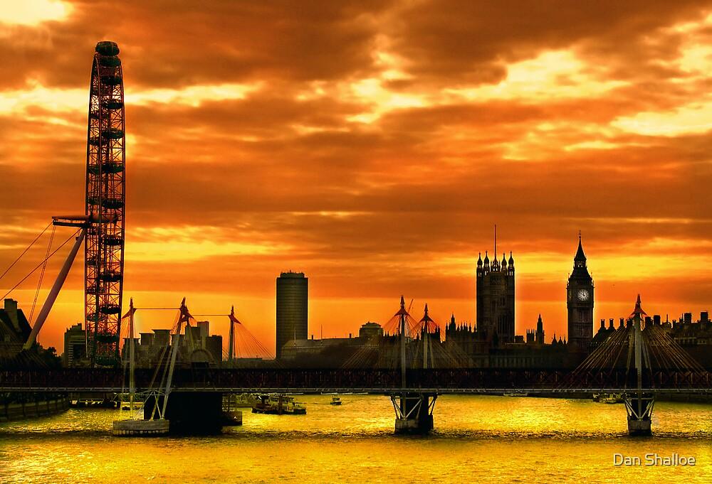 London's burning by Dan Shalloe