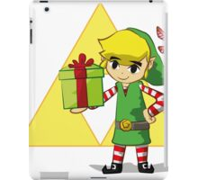 Hey listen the jingle bells iPad Case/Skin