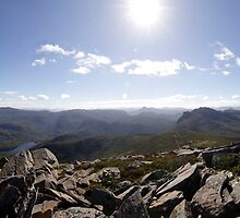 Northwest from Mt Rufus by Doug Thost