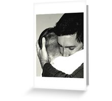 I missed you. Greeting Card