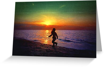 Painted sunset.. by Basia McAuley