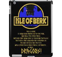 This is Berk How to train your Dragon iPad Case/Skin