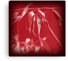 Grass Red Canvas Print