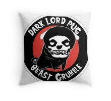 beast grumble Throw Pillow