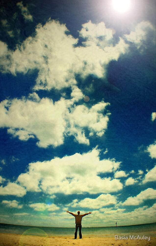 Wish you were here... by Basia McAuley