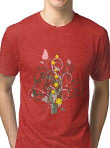 Garden design Tri-blend T-Shirt