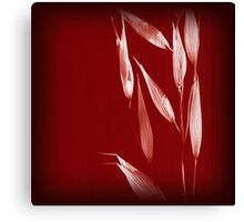 Grass Red 3 Canvas Print