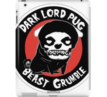 beast grumble iPad Case/Skin
