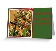Seasons Greeting  card Greeting Card