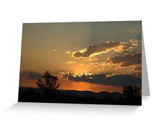 sunset 10 Greeting Card