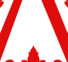 Assassin (red) Sticker
