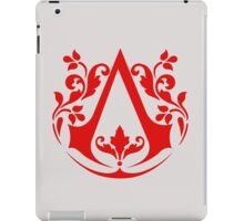 Assassin (red) iPad Case/Skin