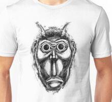 Cockroach humanoid (black ink) Unisex T-Shirt