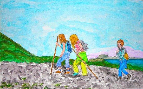 Climbin' da Reek by Joni Philbin