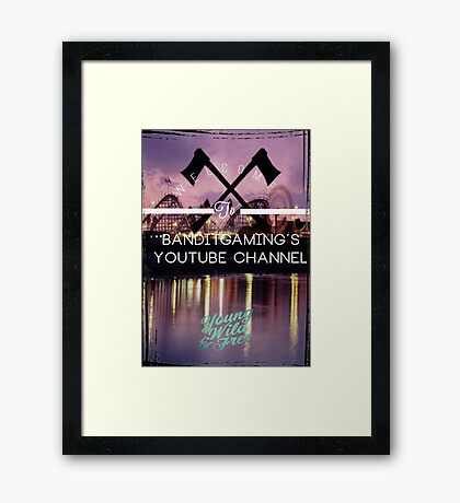 Welcome!!! Framed Print