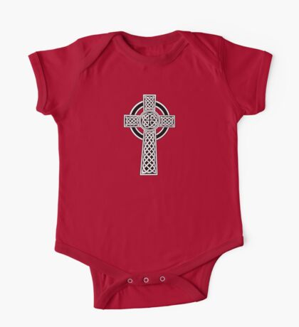 High Cross on red One Piece - Short Sleeve