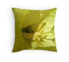 Desert Primrose Throw Pillow