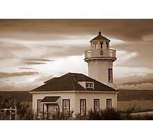 Old Lighthouse~Port Townsend, WA Photographic Print