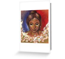 Flore Greeting Card