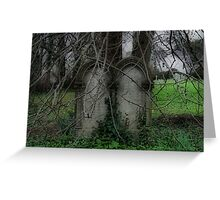 I will follow you into the dark Greeting Card