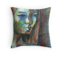 Foreboding Throw Pillow