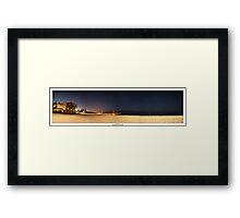 Cottesloe Night Framed Print