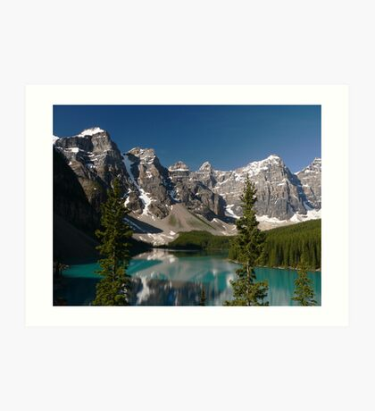 Moraine Lake, Valley of the Ten Peaks Art Print