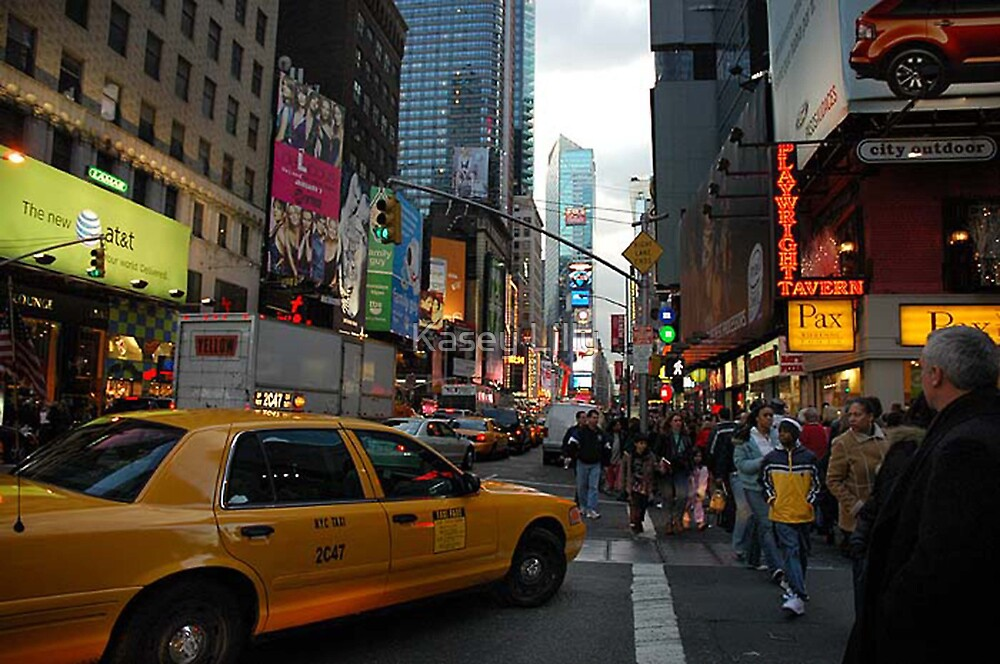 New York Taxi Cab by Kasey Lilly