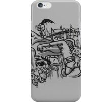 Dick and Bruce - Newsprint Edition iPhone Case/Skin