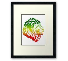 King of the Pride RASTA Framed Print