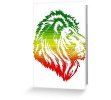 King of the Pride RASTA Greeting Card