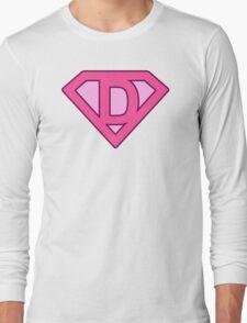 D letter Long Sleeve T-Shirt