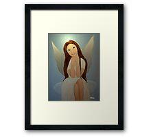 Hope the Christmas Angel Framed Print