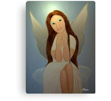 Hope the Christmas Angel Canvas Print