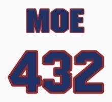 Basketball player Doug Moe jersey 432 by imsport