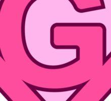 G letter Sticker