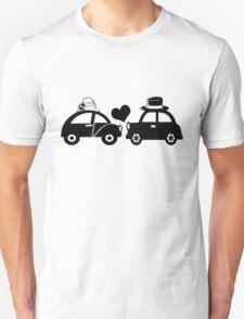 Cute Car Couple (lovers) Unisex T-Shirt