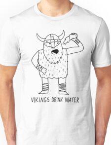 Vikings Drink Water Unisex T-Shirt