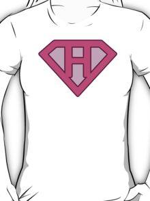 H letter T-Shirt
